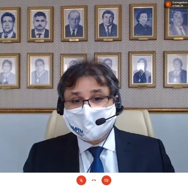 AMPEM participa de solenidade de posse da corregedora-geral de justiça Themis Maria Pacheco de Carvalho